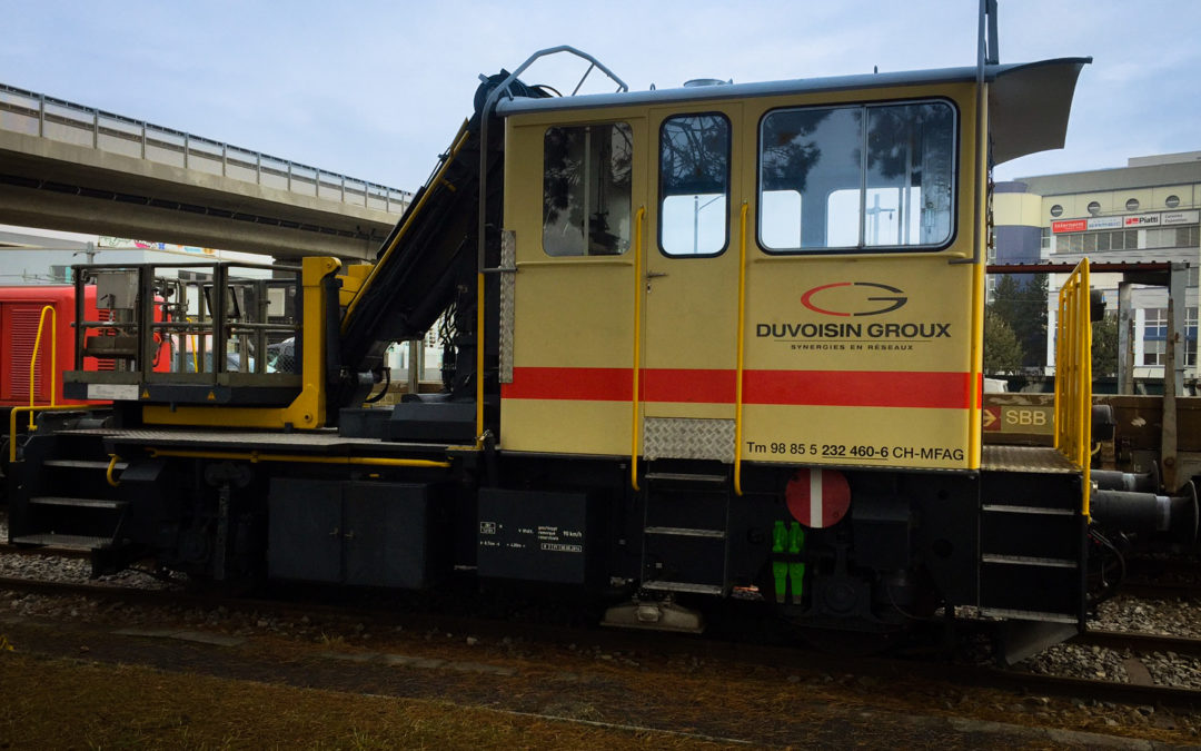 location machines ferroviaires en suisse